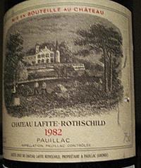 Lafitte 1982 etiket