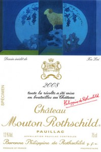Mouton Rotschild 2008