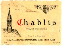 Dauvissat Chablis