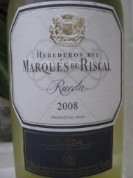 Riscal Rueda 2008