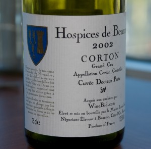 Hospices de Beaune Corton 2002