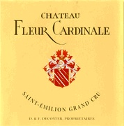 fleur cardinale etiket