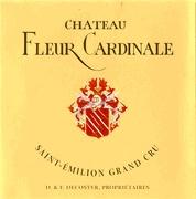 fleur cardinale etiket