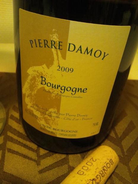 Damoy Bourgogne rouge etiket